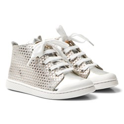 10-IS Silver Skin TEN C Mid Lace Trainer