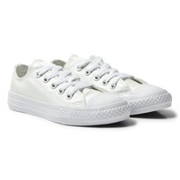 Converse White Chuck Taylor All Star Junior Trainers WHITE/WHITE