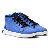 Converse Blue All Star Easy Ride Mid Junior Trainers Soar/Black/White
