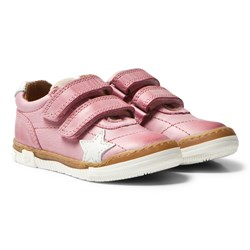 Bisgaard Velcro Shoes Rose