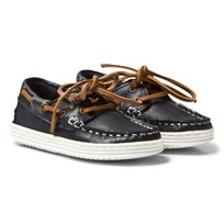 Bisgaard Boat Shoes Blue Blue