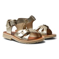 Young Soles Pearl Sandals Gold ROSE GOLD LEATHER