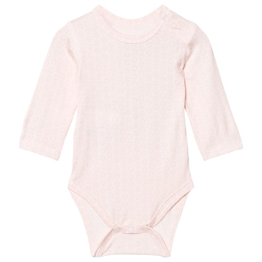 Hust&Claire Baby Body With Print Bamboo Rose Tan Rose Tan