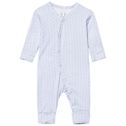 Hust&Claire Baby Body With Print Bamboo Zen Blue