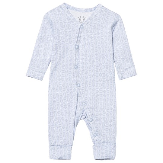 Hust&Claire Baby Body With Print Bamboo Zen Blue Zen blue