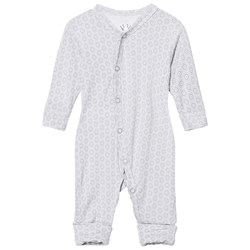 Hust&Claire Baby Body Print Bamboo Ash Grey