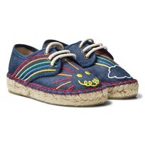Stella McCartney Kids Rae Denim Espadrilles Embroidery 4160
