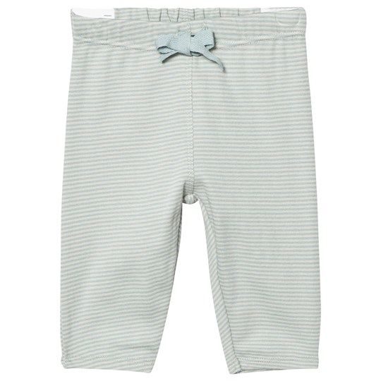 Noa Noa Miniature Soft Striped Trousers Stone Blue Blue