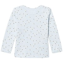 Noa Noa Miniature Long Sleeve T-Shirt With Maritime Print Baby Blue Baby Blue