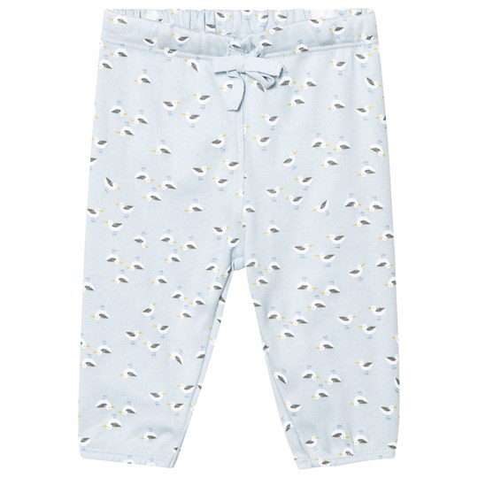 Noa Noa Miniature  Soft Trousers With Maritime Print Baby Blue Baby Blue