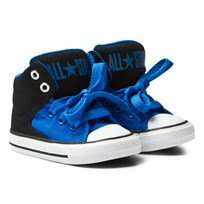 Converse Blue Chuck Taylor All Star High Street Kids Hi Tops Black/Soar/White