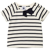 Petit Bateau Short sleeve tshirt Grey/dark blue Coquille/Smoking