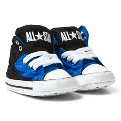 Converse Blue Black Chuck Taylor All Star First Star High Street Hi Tops