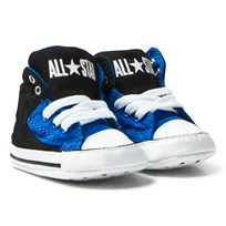 Converse Chuck Taylor All Star First Star High Street Hi Tops Blå/Svart Black/Soar/White