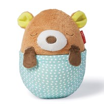 Skip Hop Moonlight & Melodies Hug Me Bear Projection Soother BROWN