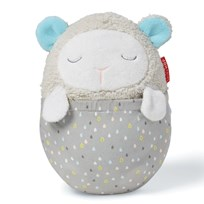 Skip Hop Moonlight & Melodies Hug Me Lamb Projection Soother White