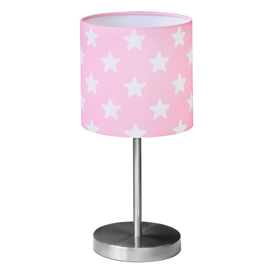 Kids Concept Table Lamp Star Pink/White Multi