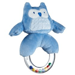 Kids Concept Rattle Ring Blue