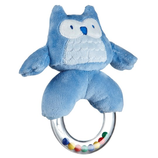 Kids Concept Rattle Ring Blue Sand