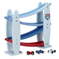Kids Concept Turbo Blue Car Track Sininen