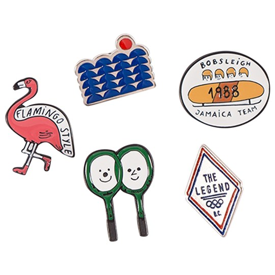 Bobo Choses Pins Pack Off White Off white