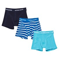 Bjorn Borg 3 Pack of Stripe and Solid Trunks 71071