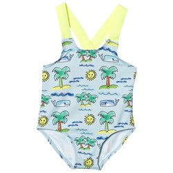 Stella McCartney Kids Beach Print Baby Baddräkt