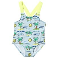 Stella McCartney Kids Beach Print Baby Baddräkt 3461