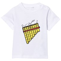 Stella McCartney Kids Pan Pipes Chuckle T-shirt 9082