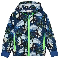 Stella McCartney Kids Hawaiian Print Scout Jacka Blå 4064