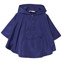 Stella McCartney Kids Regn Cape med Grod Huva Blå 4100