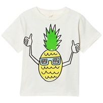 Stella McCartney Kids White Pineapple Print T-shirt 9232