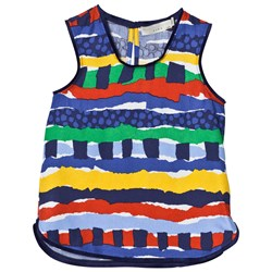 Stella McCartney Kids Multi Rag Print Top