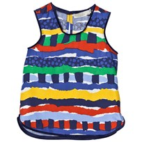 Stella McCartney Kids Multi Rag Print Top 7065