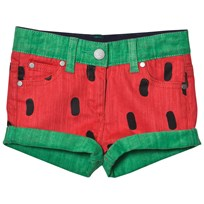 Stella McCartney Kids Watermelon Print Hula Shorts 6264