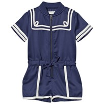 Stella McCartney Kids Nautical Romper Marinblå 4100