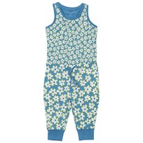 Stella McCartney Kids Blue Jumpsuit Daisy Print 4070