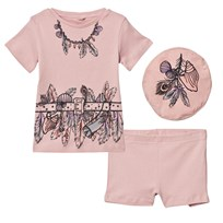 Stella McCartney Kids Dusty Rose Beach Pyjamas 5768