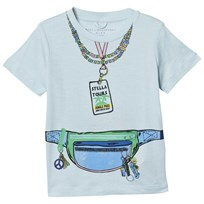 Stella McCartney Kids Pale Blue Arlow Tour Tee 3564