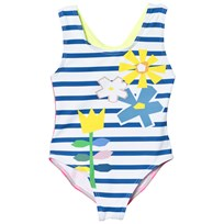 Stella McCartney Kids Baddräkt Blue och White 4762