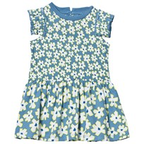 Stella McCartney Kids Blue Daisy Print Klänning 4070