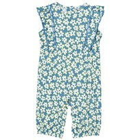 Stella McCartney Kids Blue Daisy Print Romper 4070