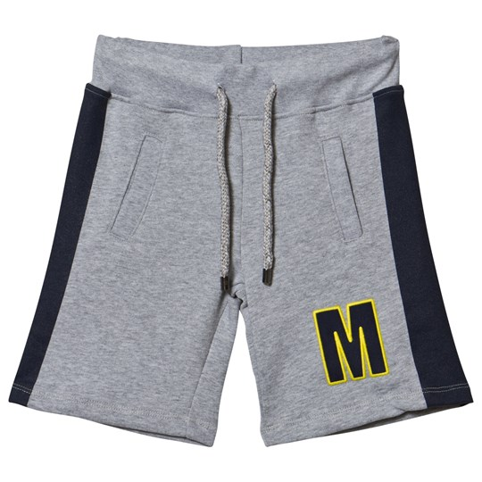 MSGM Grey Branded Sweat Shorts 101