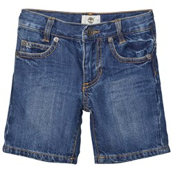 Timberland Blue Mid Wash Denim Shorts