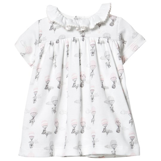 Livly Baby Collar Dress Pink Elephant Pink Elephant