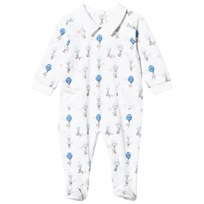 Livly Collar Footed Baby Body Blue Elephant Blue Elephant