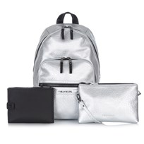 Tiba + Marl Elwood Backpack Silver Hopea
