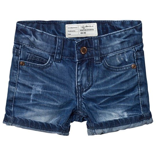 I Dig Denim Denton Shorts Dark Blue Dark Blue