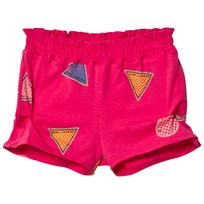 Little Marc Jacobs Branded Jersey Shorts Rosa S48