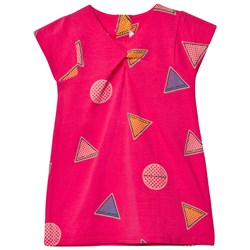 The Marc Jacobs All Over Branded Print Jersey Klänning Rosa
